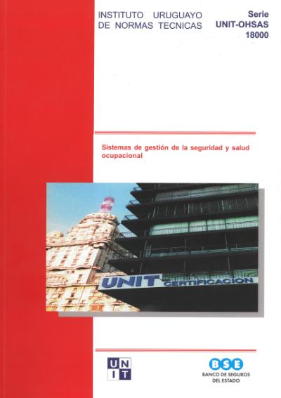 Tapa del compendio de normas UNIT-OHSAS 18000:2009