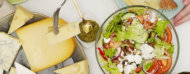Alimentos en una mesa
