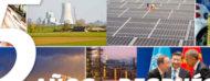 Mosaico con varias fotos relacionadas a la energía