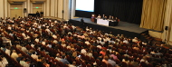 Publico de la conferencia