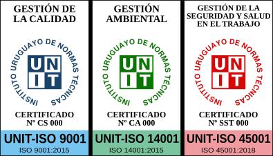 Logotipo de las marcas de certificación UNIT