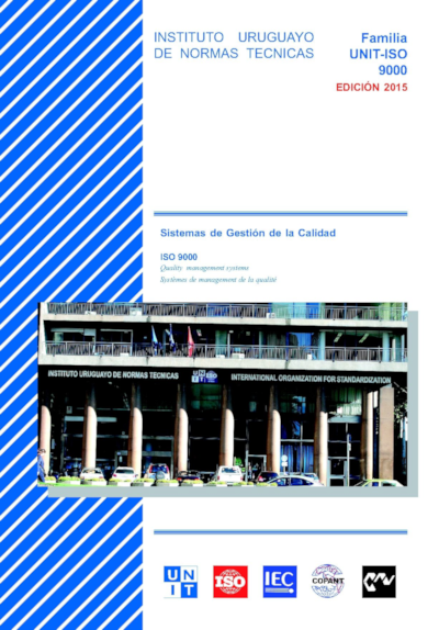 Imagen de la portada del compendio de normas UNIT-ISO 9000 – Sistemas de Gestión de la Calidad