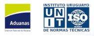 Logo de Aduana y UNIT-ISO