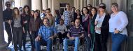 Participantes del curso de Accesibilidad al Medio Físico