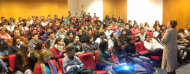 Participantes a la charla