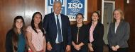En la foto: (desde la izquierda) Lucia Purgat, intn01, Ing. Pablo J. Benia, intn02, intn03 y Arq. Claudia Chocca.