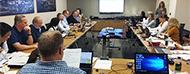 Foto de la reunión iso casco