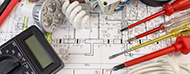 plano de instalacion eléctrica y herramientas